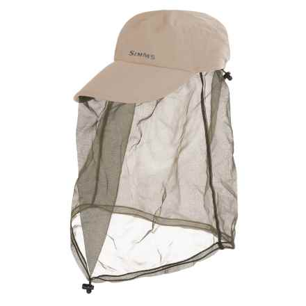Simms Bugstopper® Net Cap - UPF 50+ (For Men and Women) in Sand - Closeouts