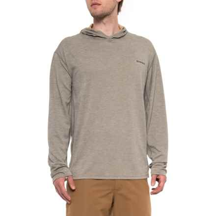 Simms BugStopper® Tech Hoodie - UPF 50 (For Men) in Mineral