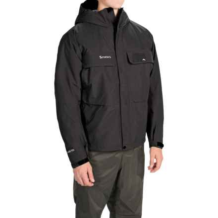 Simms Bulkley Hooded Gore-Tex® Jacket - Waterproof, Insulated (For Men) in Black - Closeouts