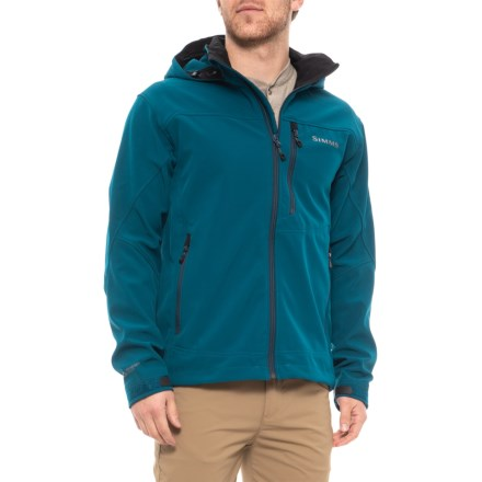 c04426e9ff210 Simms Challenger Polartec® Windbloc® Hooded Jacket (For Men) in Dusk -  Closeouts