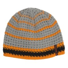 Simms Chunky Beanie (For Men and Women) in Tangerine - Closeouts