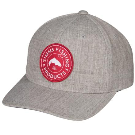 f6840e6eb4b Simms Classic Baseball Cap - Cotton Twill (For Men and Women) in Boulder -