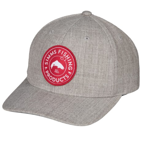 6b6bb0b15fb Simms Classic Baseball Cap - Cotton Twill (For Men and Women) in Boulder