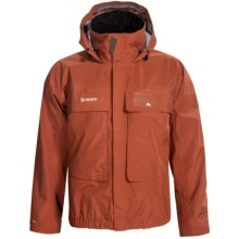 Simms Classic Guide Gore-Tex® Wading Jacket - Waterproof (For Men) in Orange - Closeouts
