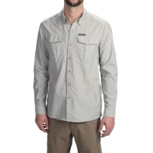 Simms Clinch Shirt - UPF 50+, Long Sleeve (For Men) in Moonstone - Closeouts
