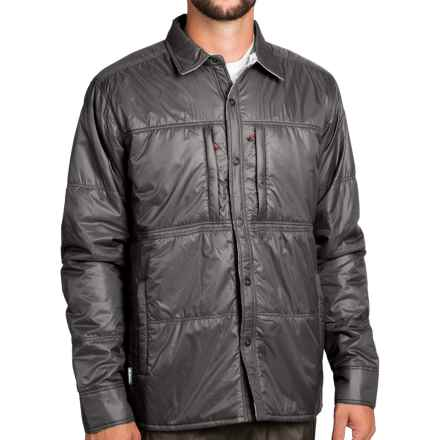 Simms Confluence Jacket - UPF 50+, Reversible, Insulated (For Men) in Lead - Closeouts