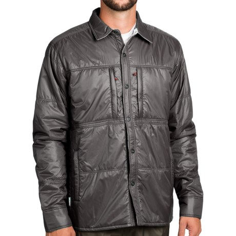 Simms Confluence Jacket UPF 50 Reversible Insulated For Men