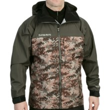 Simms Contender Gore-Tex® Jacket - Waterproof (For Men) in Catch Camo Orange - Closeouts