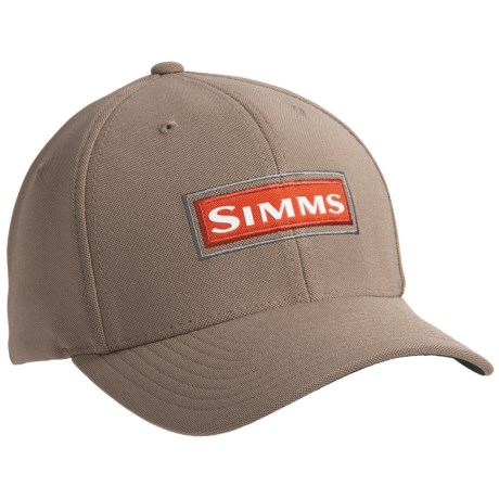 simms fly fishing cool flexfit baseball cap hat