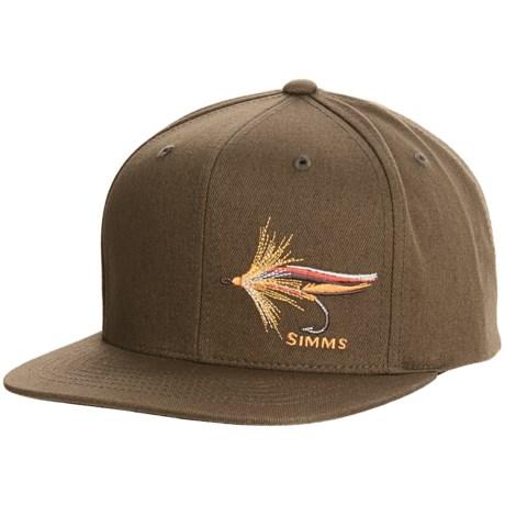 Simms Cotton Twill Snapback Baseball Cap - UPF 50+ (For Men)