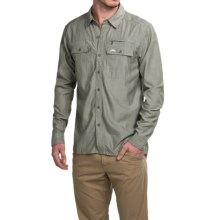 Simms Cuda Shirt - UPF 30, Long Sleeve (For Men) in Olive - Closeouts
