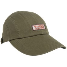 Simms Double Haul Baseball Cap - UPF 50+ in Loden - Closeouts