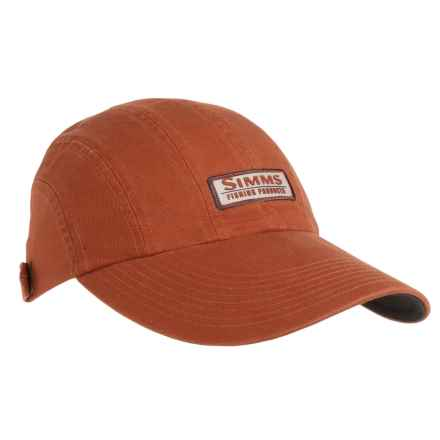 Simms Double Haul Baseball Cap - UPF 50+ in Simms Orange - Closeouts
