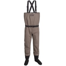 Simms Drift Waders - Stockingfoot (For Men) in Light Brown - Closeouts