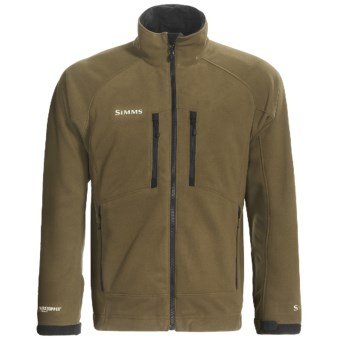 Simms Drift Windstopper® Fleece Jacket (For Men) in Beech
