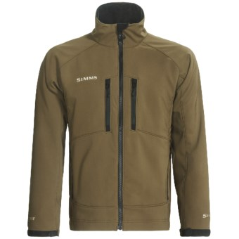 Simms Drift Windstopper® Soft Shell Jacket (For Men) in Beech