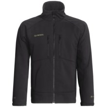 Simms Drift Windstopper® Soft Shell Jacket (For Men) in Black - Closeouts