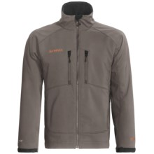 Simms Drift Windstopper® Soft Shell Jacket (For Men) in Dark Gull Grey - Closeouts