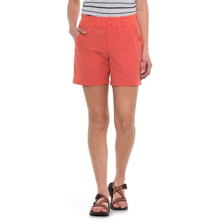 Simms Drifter Shorts - UPF 30+ (For Women) in Dark Coral