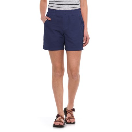 Simms Drifter Shorts - UPF 30+ (For Women) in Oxford Blue