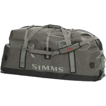 Simms Dry Creek® 164L Duffel Bag - XL in Greystone - Closeouts
