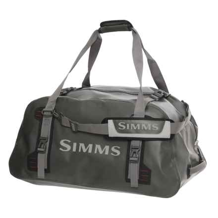 Simms Dry Creek® Z 85L Duffel Bag in Dark Gunmetal - Closeouts