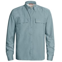 Simms EbbTide Fishing Shirt - UPF 50+, Long Sleeve (For Men) in Slate Blue - Closeouts