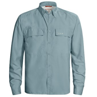 Simms EbbTide Fishing Shirt - UPF 50+, Long Sleeve (For Men) in Slate Blue