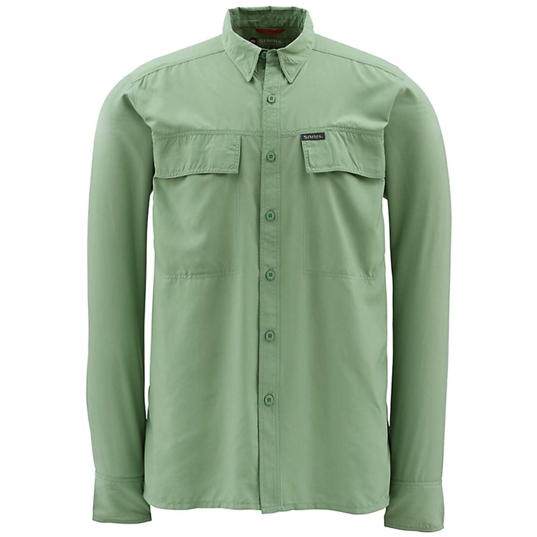 Simms Ebbtide Fishing Shirt Upf 50 Long Sleeve For