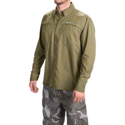 Simms Ebbtide Shirt - UPF 50+, Long Sleeve (For Men) in Aloe - Closeouts
