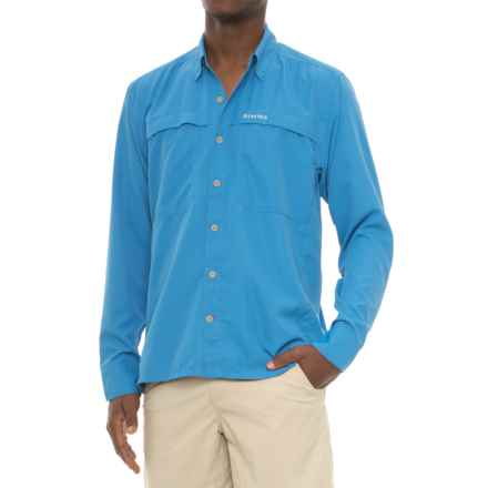 Simms Ebbtide Shirt - UPF 50+, Long Sleeve (For Men) in Blue Harbor - Closeouts