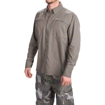 Simms Ebbtide Shirt - UPF 50+, Long Sleeve (For Men) in Charcoal - Closeouts