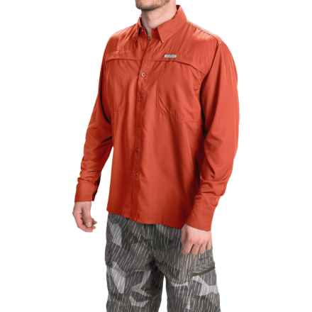 Simms Ebbtide Shirt - UPF 50+, Long Sleeve (For Men) in Fury Orange - Closeouts