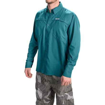 Simms Ebbtide Shirt - UPF 50+, Long Sleeve (For Men) in Lake - Closeouts