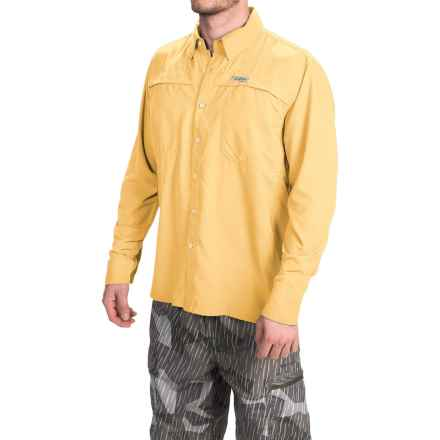 Simms Ebbtide Shirt - UPF 50+, Long Sleeve (For Men) in Light Yellow - Closeouts