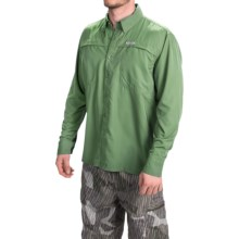 Simms Ebbtide Shirt - UPF 50+, Long Sleeve (For Men) in Mantis - Closeouts