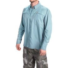 Simms Ebbtide Shirt - UPF 50+, Long Sleeve (For Men) in Mist - Closeouts