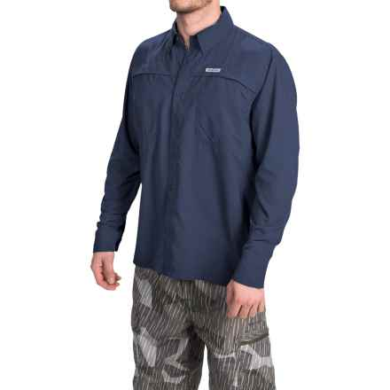Simms Ebbtide Shirt - UPF 50+, Long Sleeve (For Men) in Oxford Blue - Closeouts