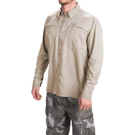 Simms Ebbtide Shirt - UPF 50+, Long Sleeve (For Men) in Putty - Closeouts