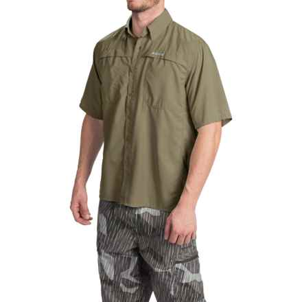 Simms Ebbtide Shirt - UPF 50+, Short Sleeve (For Men) in Aloe - Closeouts