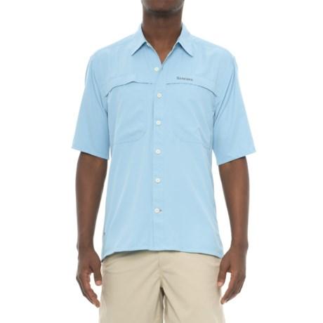 Simms Ebbtide Shirt - UPF 50+, Short Sleeve (For Men)