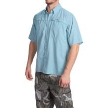 Simms Ebbtide Shirt - UPF 50+, Short Sleeve (For Men) in Mist - Closeouts