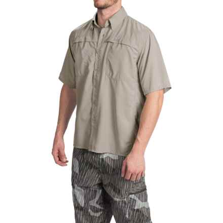 Simms Ebbtide Shirt - UPF 50+, Short Sleeve (For Men) in Putty - Closeouts