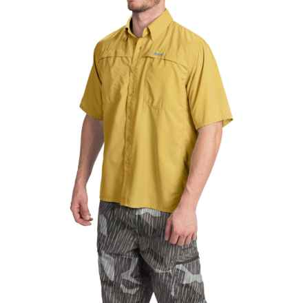 Simms Ebbtide Shirt - UPF 50+, Short Sleeve (For Men) in Straw - Closeouts