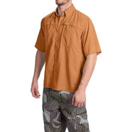 Simms Ebbtide Shirt - UPF 50+, Short Sleeve (For Men) in Topaz - Closeouts