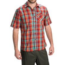 Simms Espirito Shirt - UPF 30+, Short Sleeve (For Men) in Cutthroat Plaid - Closeouts