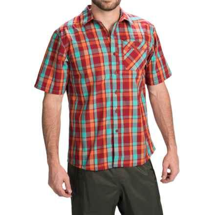 Simms Espirito Shirt - UPF 30+, Short Sleeve (For Men) in Cutthroat Plaid - Closeouts