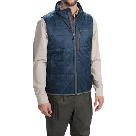 Simms Fall Run PrimaLoftR Gold Vest Insulated For Men