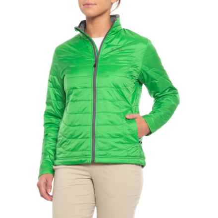 Simms Fall Run PrimaLoft® Jacket - Insulated (For Women) in Spring Green - Closeouts