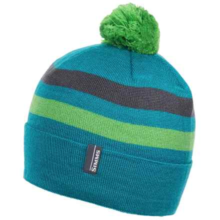 Simms Fleece-Lined Beanie (For Women) in Lagoon - Closeouts